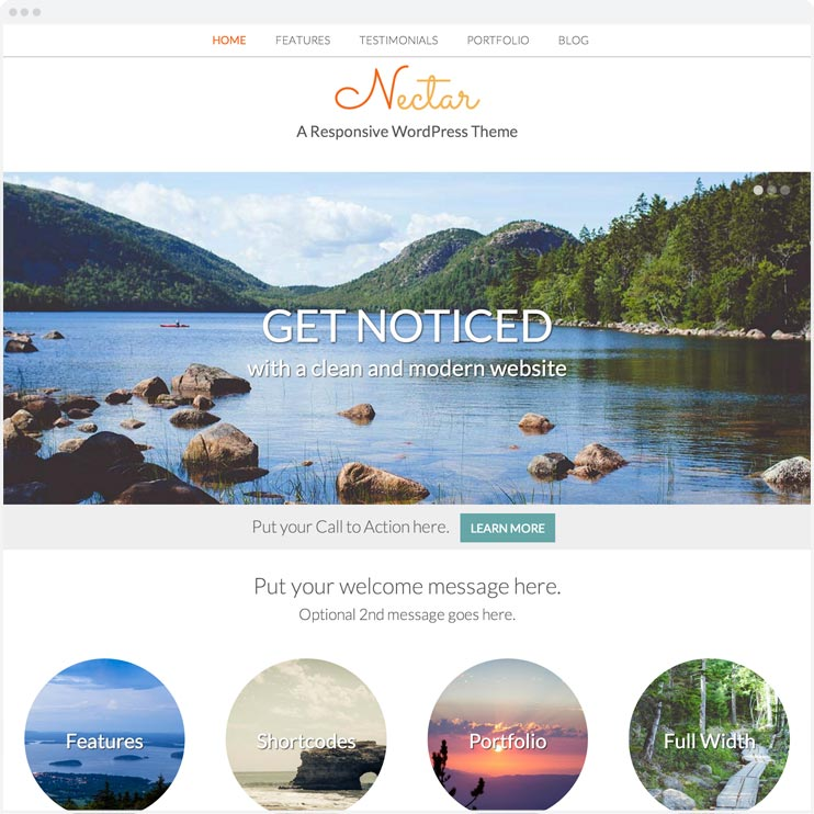 Nectar - Responsive WordPress Theme