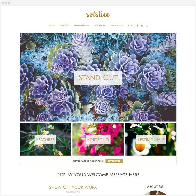 Solstice - Responsive WordPress Theme